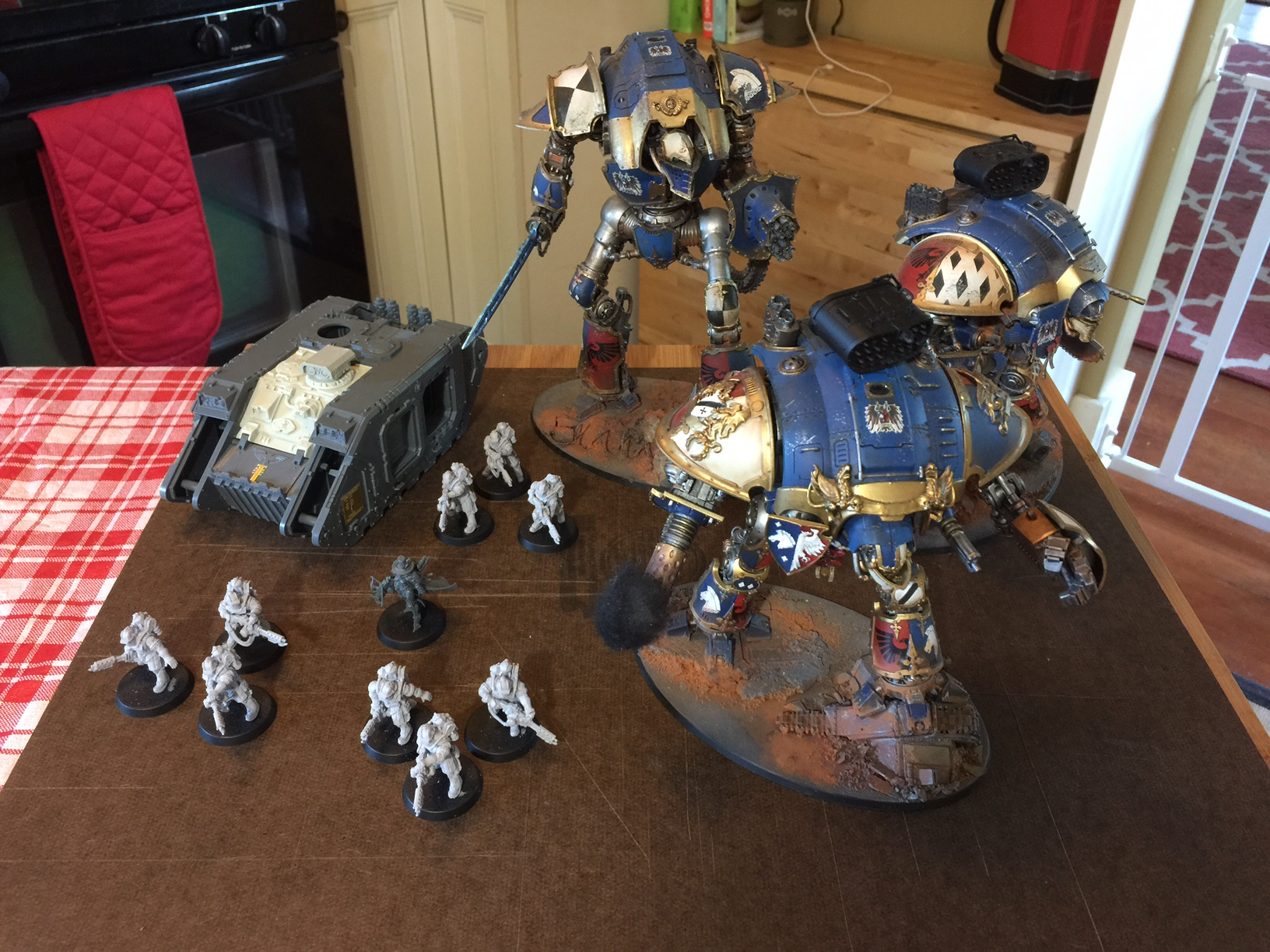 Warhammer 40k 8th Edition: First Impressions — The Dice Abide