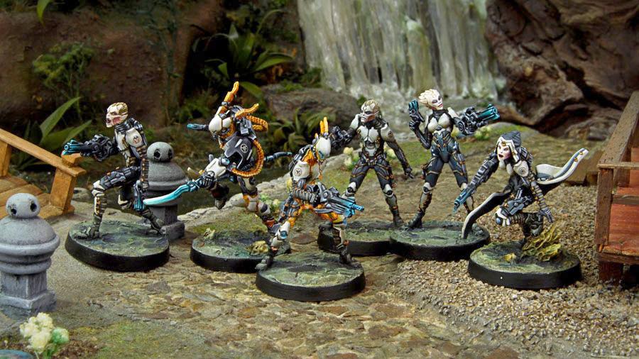 Muestra del Ejército de Tohaa, Infinity Juego de miniaturas