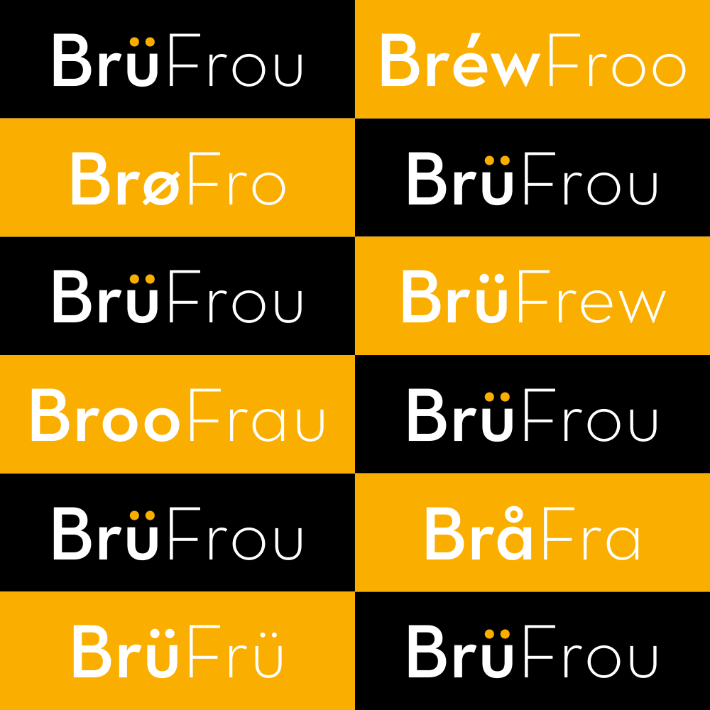 No matter how you pronounce it, BrüFrou is coming up on April 30th! Don't miss out!40 breweries + 40 eateries = craft beer + culinary perfection.TIX $65-95: www.culinarypairings.com