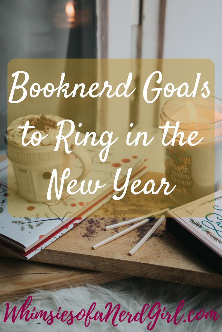 Booknerd Goals to Ring in the New Year