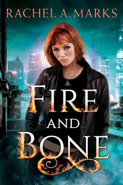 Title: Fire and Bone (Otherworld #1)  Author: Rachel A. Marks  Publisher: Skyscape  Publish Date: February 20, 2018  Genre(s): YA, Fantasy, Paranormal, Folklore, Celtic and Irish Folklore