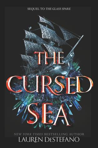 The Cursed Sea (The Glass Spare #2) by Lauren DeStefano // TBR ALERT --- RELEASE DATE:December 18, 2018