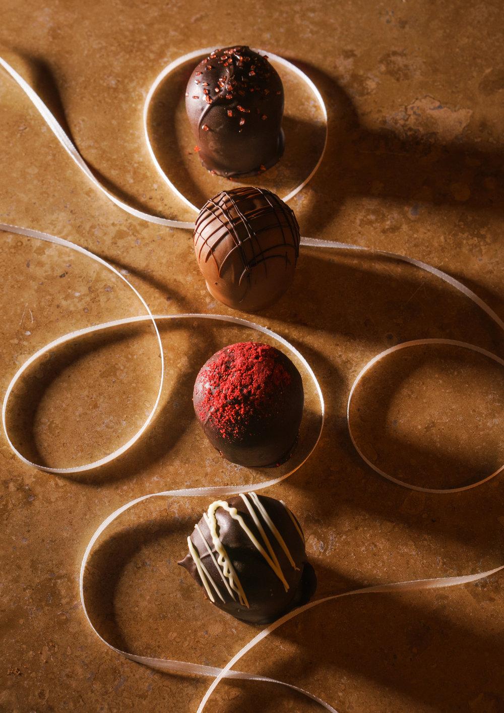 truffles by euphoria chocolate