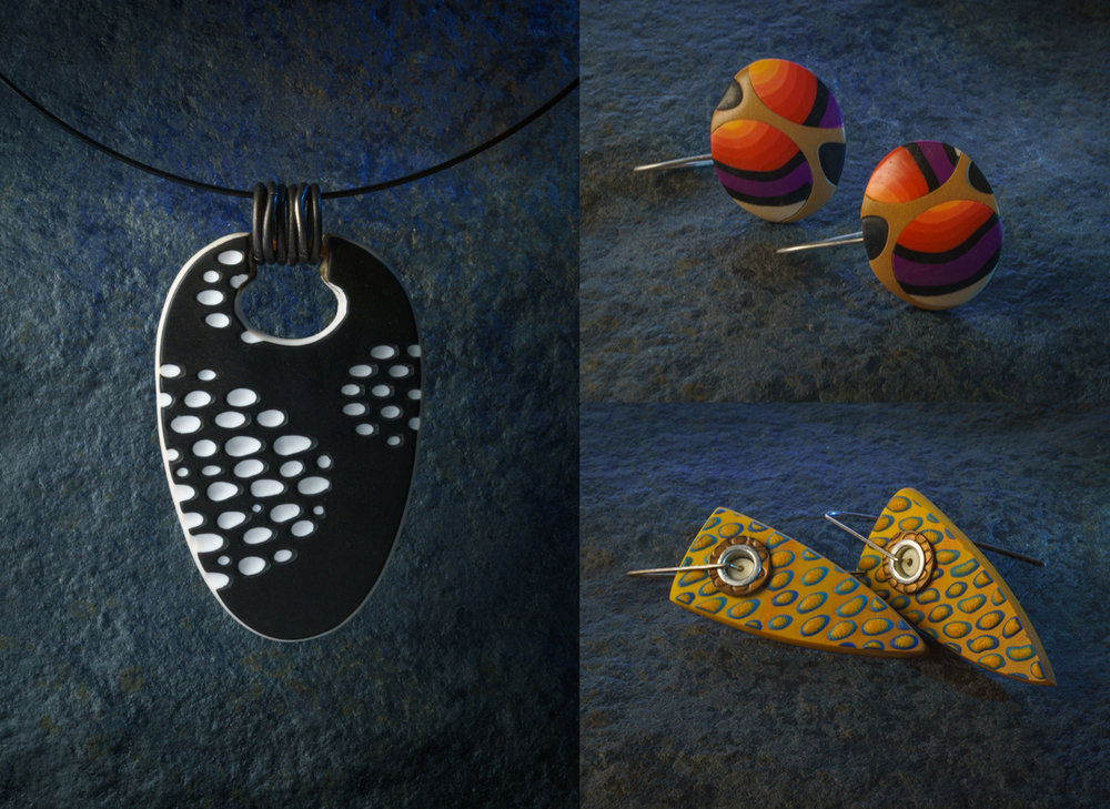 polymer clay jewelry for catalog