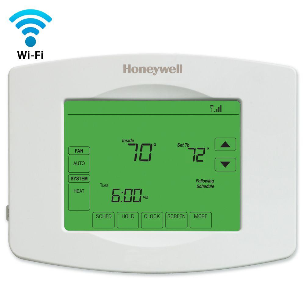 Wi Fi Thermostats Robert R Mcgill Air Conditioning Inc 561 331 2266 Conditioner Thermostat Honeywell Wifi