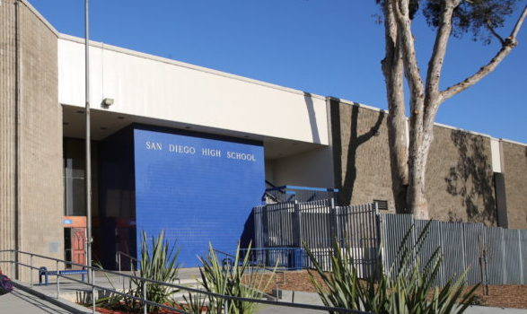 San Diego High School - San Diego High is the oldest high school in the San Diego Unified School District. We are located at the edge of downtown San Diego, and have a diverse student population of about 3,000. Our talented faculty instructs students in academic and extracurricular disciplines.  San Diego High School has three schools located in the school complex;  International Studies, Science and Technology, and Business and Leadership.We have provided various links to school information: