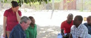 Kongolati Tim coaches Pastor Juka