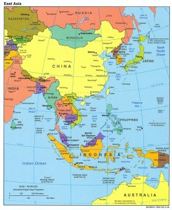 Asia Map 2