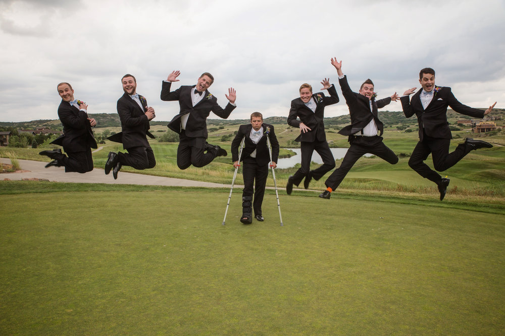 The Men… - Never underestimate the magnitude fun when men wear suits!