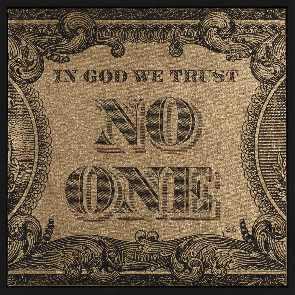 In God We Trust No One Gold