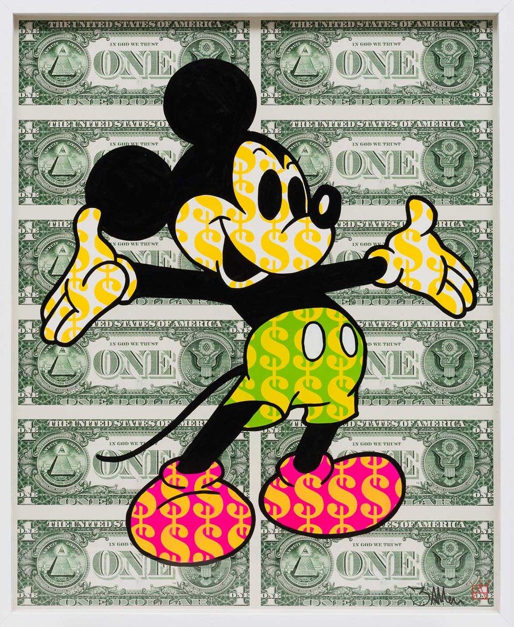 BenAllen_Monster_Mickey_NeonPink_110cmx135cm_FRAMEDONLY_Acrylic_spraypaint_stencil_giclee_320gsmpaper_£.jpg