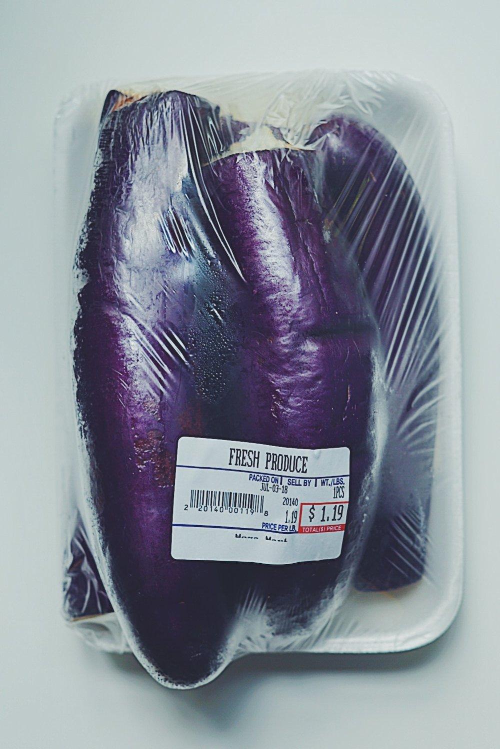 ugly eggplants