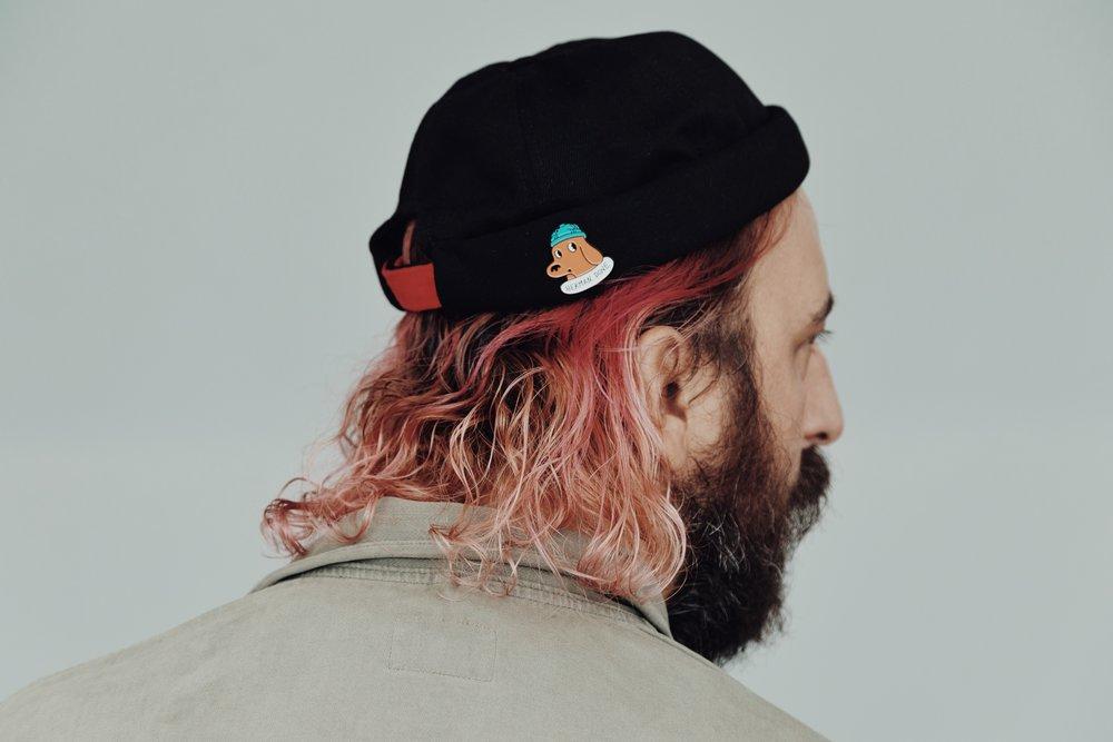 Herman dune xBeton Cirexgood guys - A musician a hat maker a vegan brand