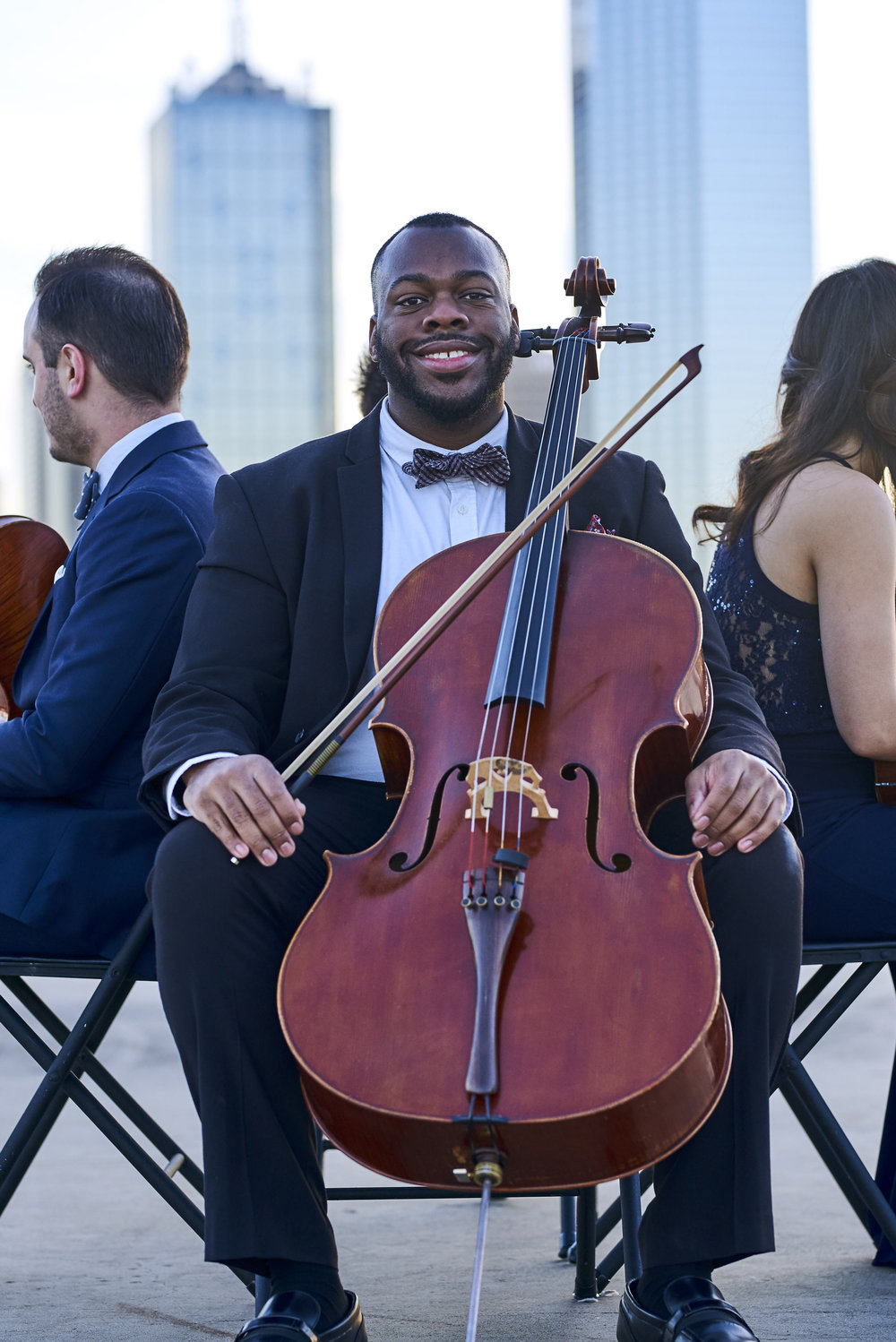 BYRON HOGAN    Byron Hogan  is a cellist and arranger from Lakeland, Florida. From 2010 to 2012, he was an Artist in Residence at USF as a member of the President's Piano Trio. He has played in ensembles such as the Ocala Symphony Orchestra, The Osud trio, The St. Petersburg Opera, and the Miami ballet as well as performing as soloist with The Imperial Symphony and the Bogus Pomp Orchestra. Byron has recently taught master classes in Florida in addition to performing throughout the United States and Canada. He holds a Bachelors of Music from Florida Southern College where he studied under Anne Parrette and Jeffrey Lang, a Masters in Music Performance and Chamber Music Performance from the University of South Florida where he studied under Scott Kluksdahl, a Graduate Performance Diploma from The Boston Conservatory under Rhonda Rider, and an Artist Diploma from the John J. Cali School of Music at Montclair State University under Nicholas Tzavaras as part of the Graduate String Quartet in Residence program.