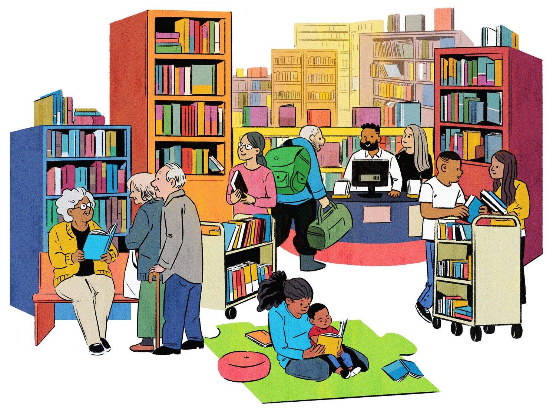 Библиотека рисованные картинки