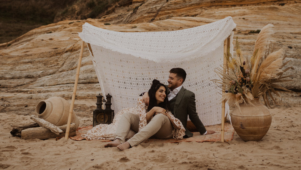 boho - indie wedding inspiration -