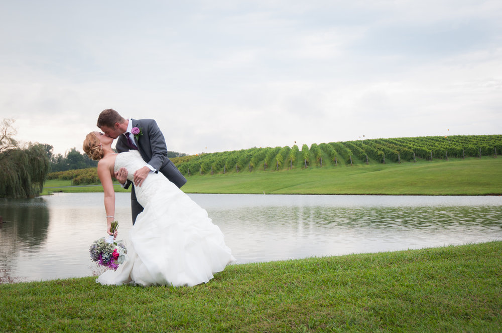 cdb81e7751e6 Going With The Flow | Jennifer & Grant — Keswick Vineyards Weddings