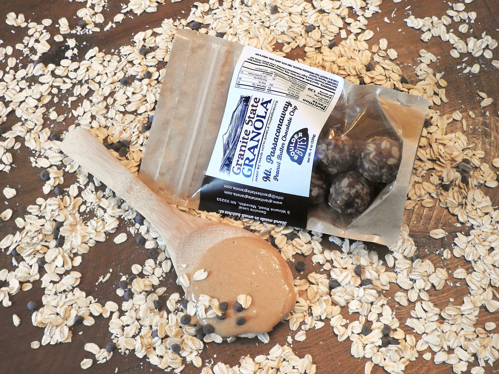 Mt Passaconaway Peanut Butter Chocolate Chip Bites