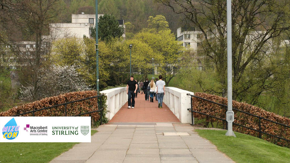 The bridge that links the Macrobert and main campus to the accomodation buildings.