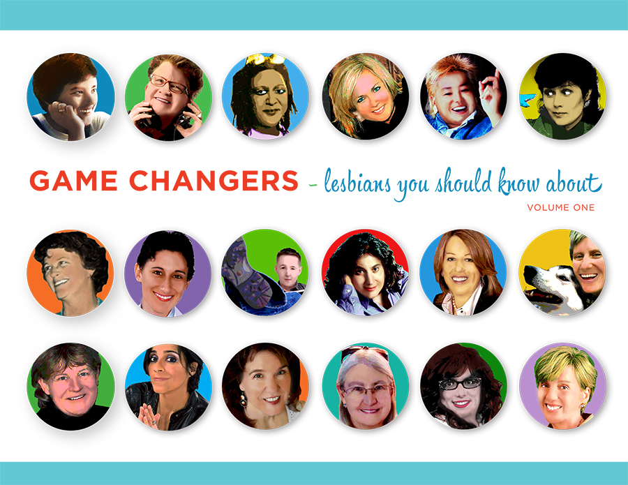 Many of the amazing women featured in  Game Changers.