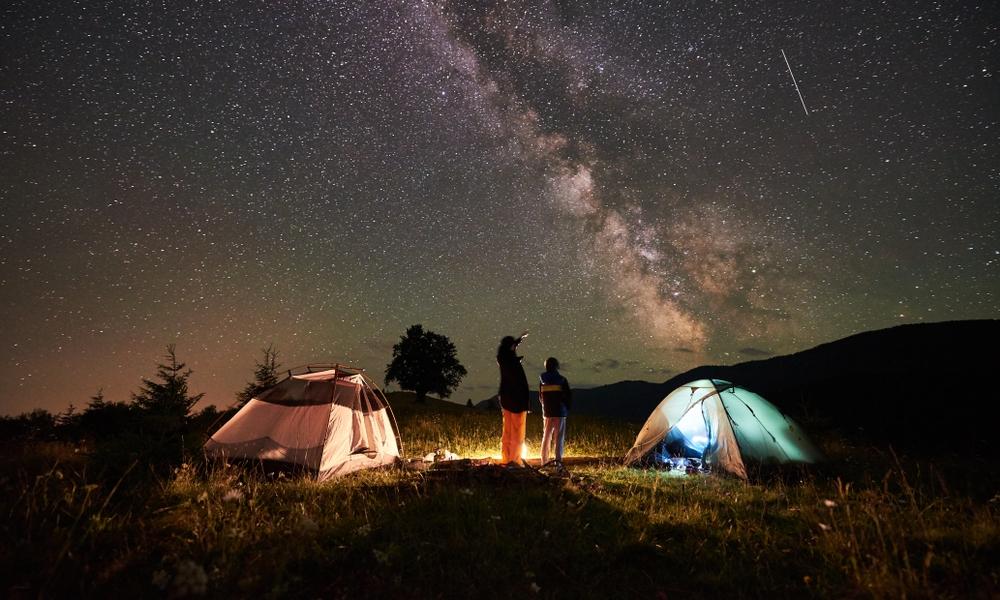 Camping Hike Trip