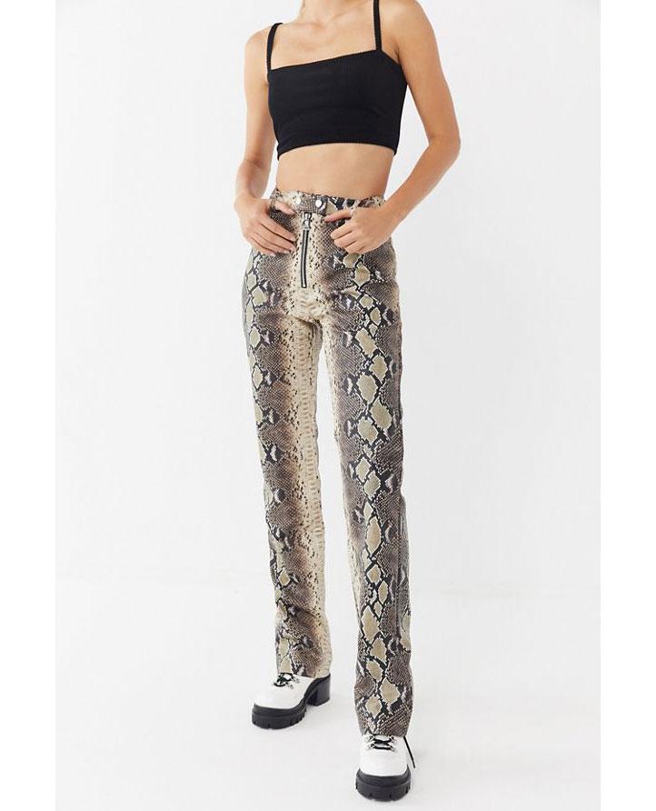 I.AM.GIA Snakeskin Pants     $130
