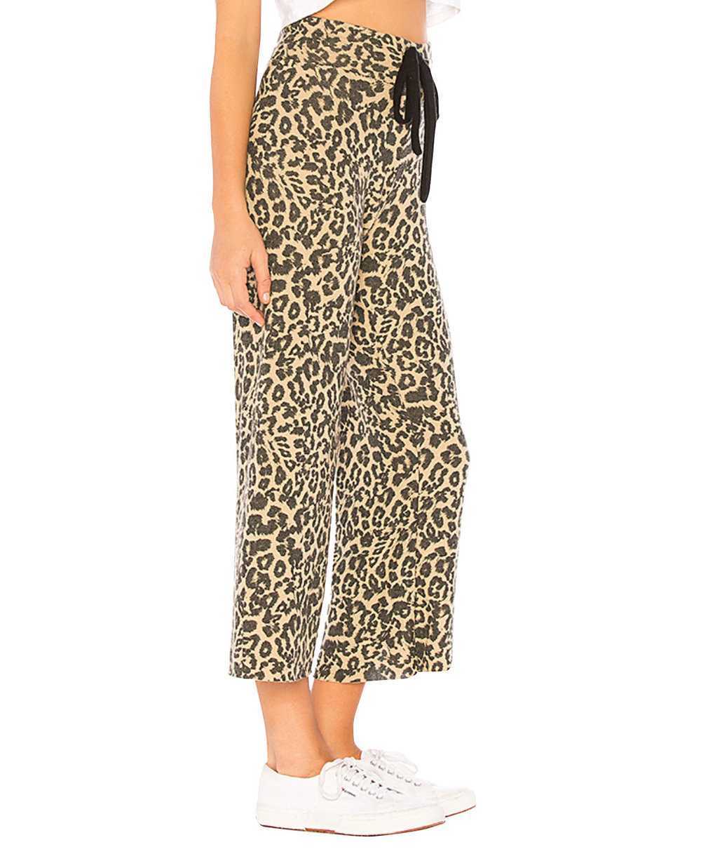 LNA Leopard Print Pants     $125