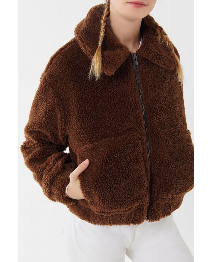 Urban Outfitters Teddy Jacket     $89