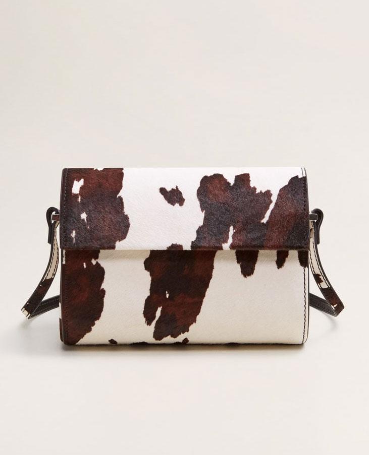 Mango Leather Bag     $119.99