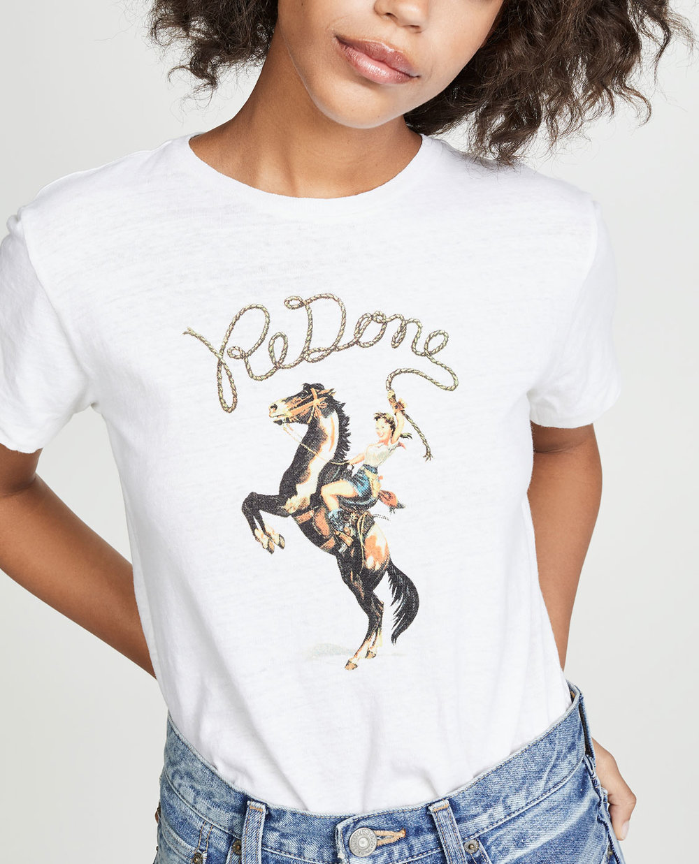 RE/DONE Cowgirl Tee     $110