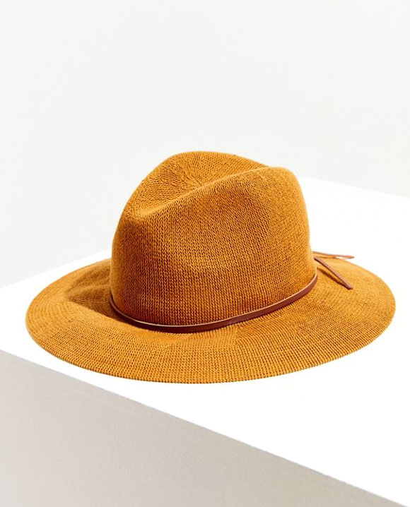 Nubby Panama Hat     $24