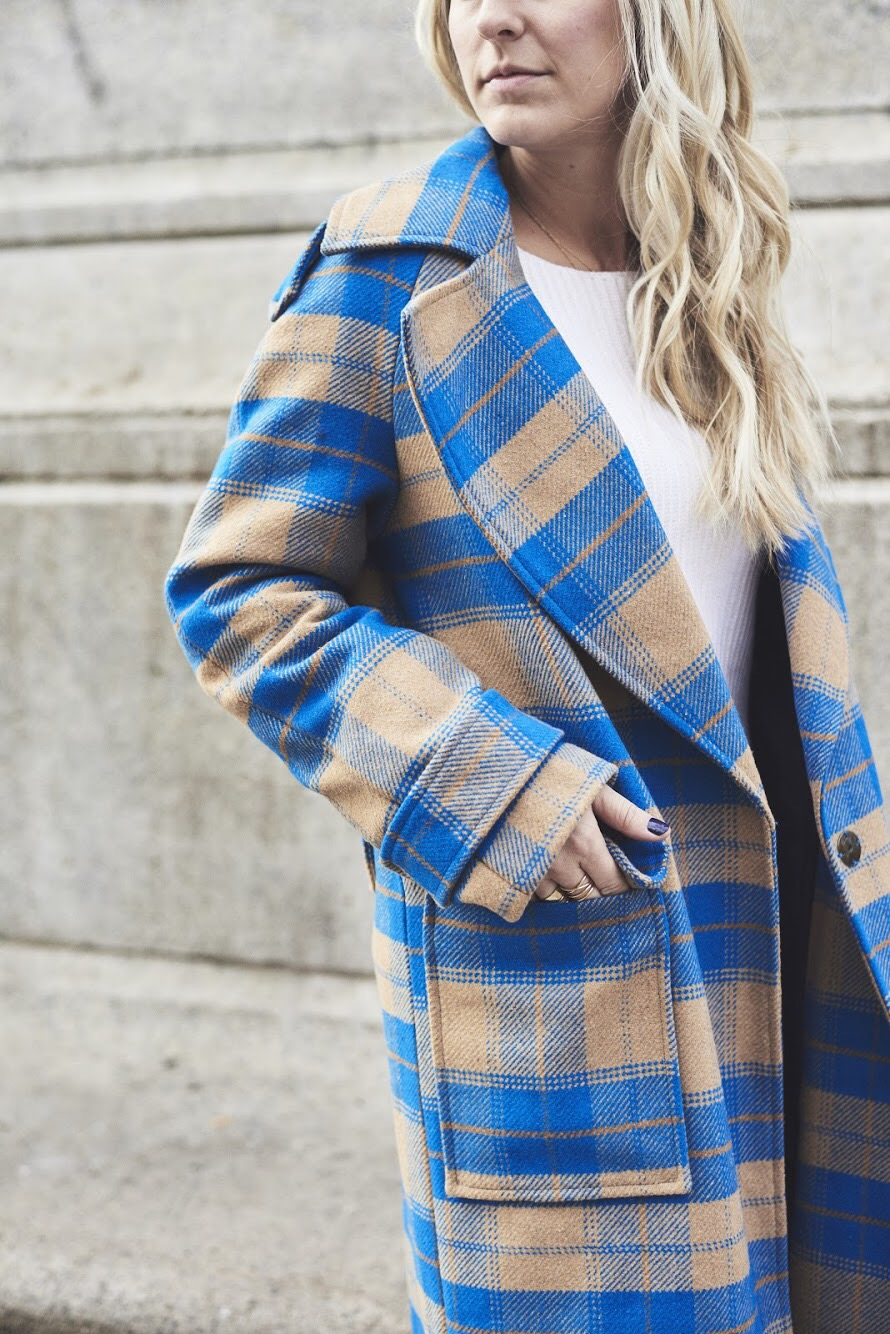 Shop The Season's Best Plaid for Your A+ Winter Uniform - A classic with a winter a twist.Photo Credit: Emerald Baker