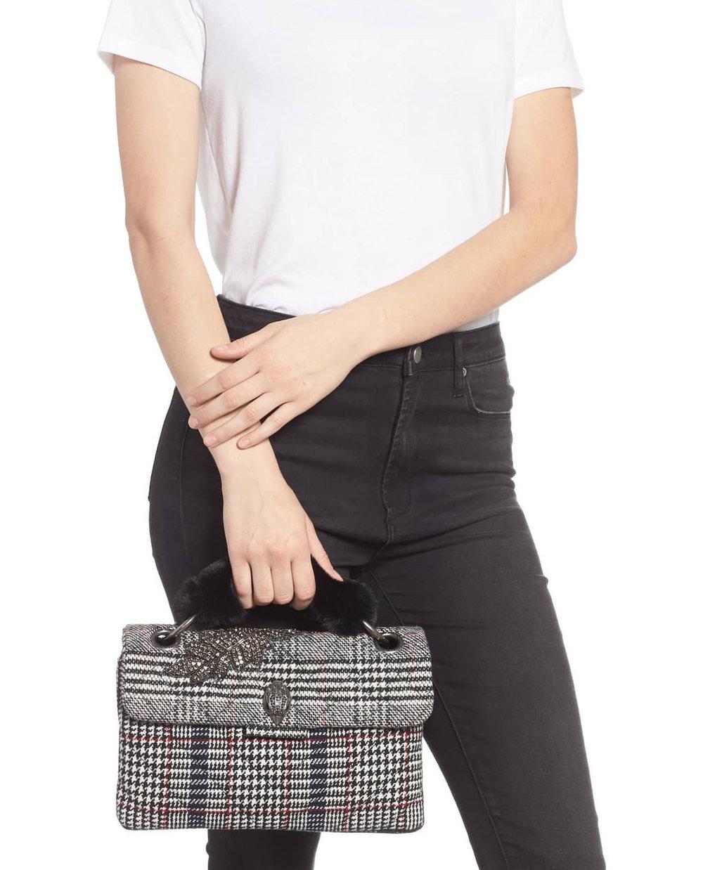 Kurt Geiger Plaid Bag   $138.60