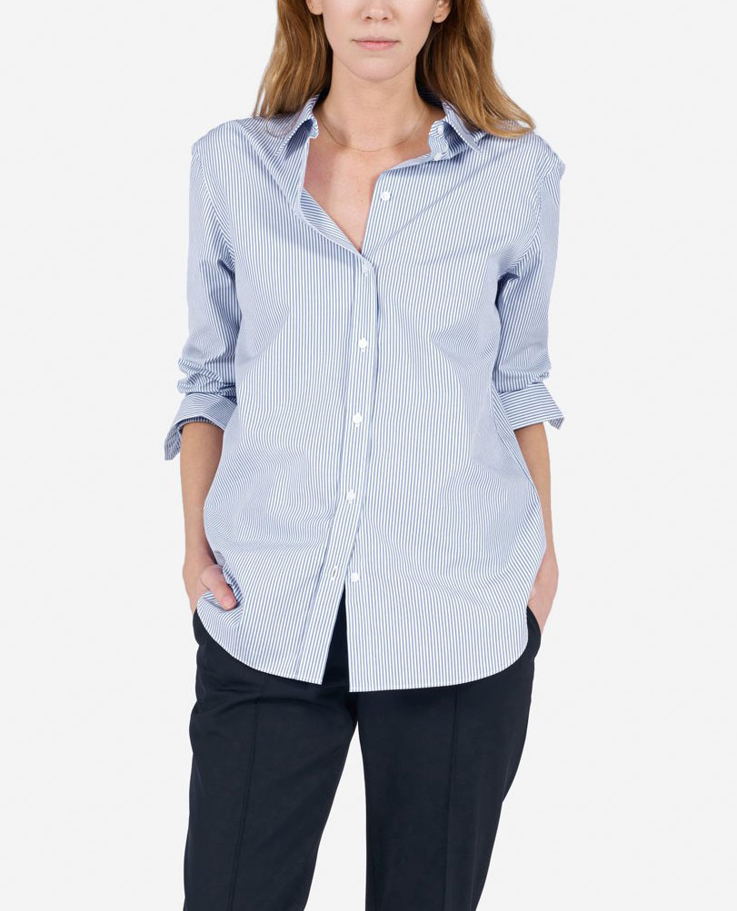 Everlane Classic Blouse     $55