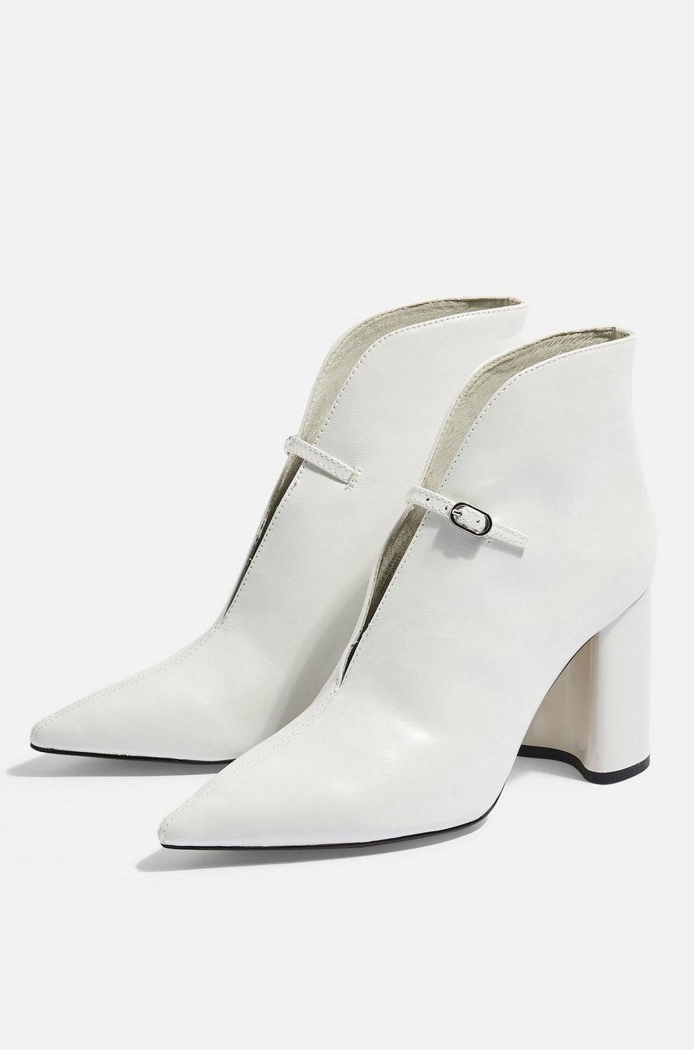Top Shop White Boots  $130
