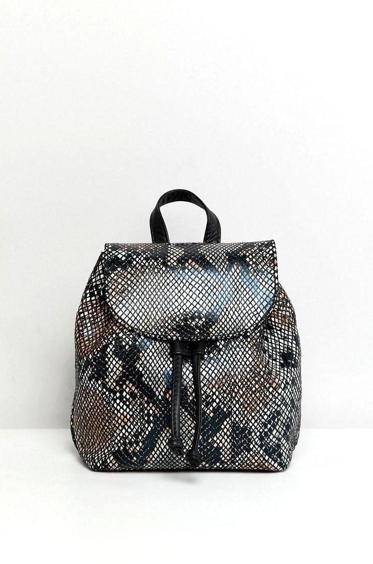 Asos Snakeskin Bag       $56
