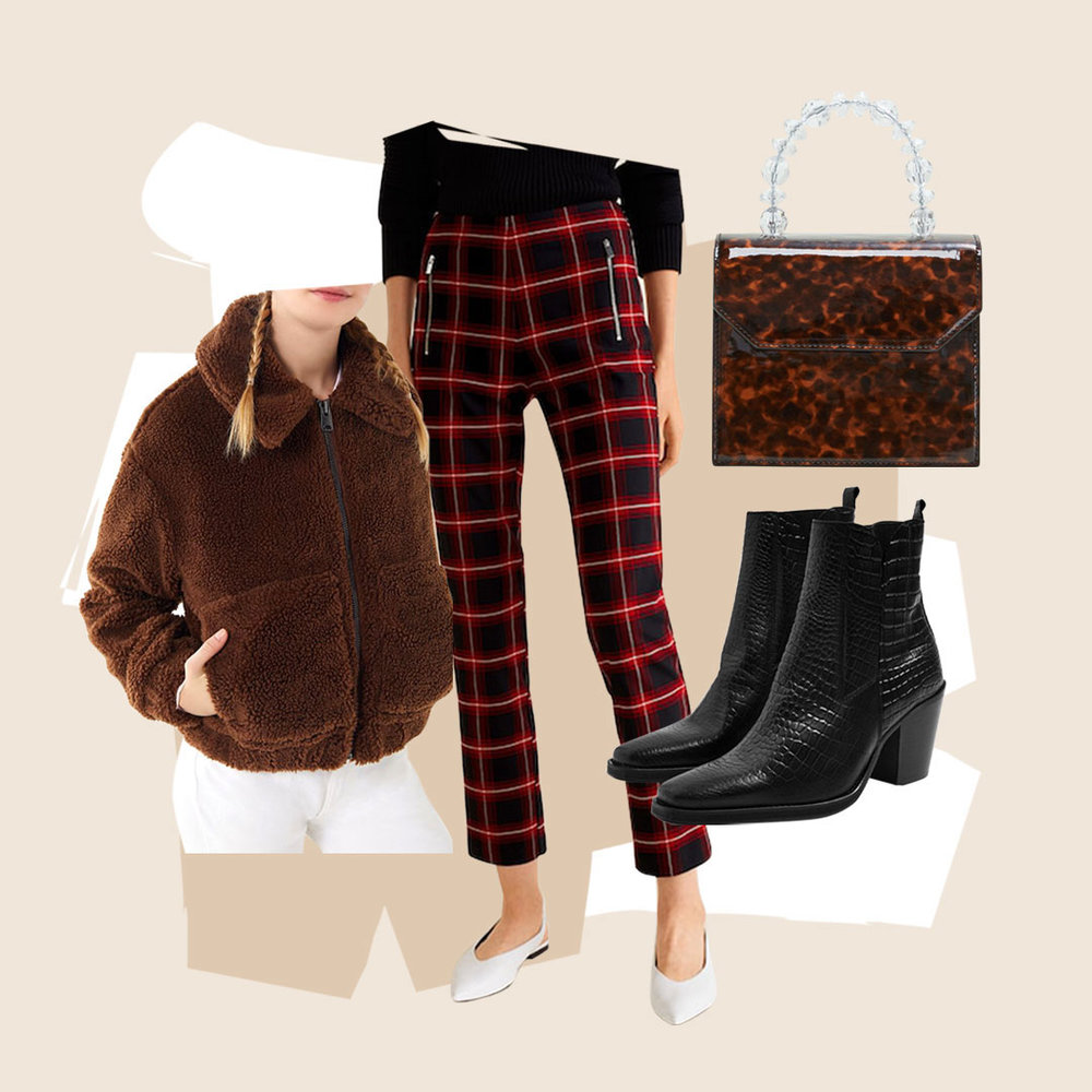 Other Neutral Prints for Passing Leopard Print - So leopard isn't your animal print of choice? Cozy up in a brown teddy jacket, rock a tortoise shell purse, or choose crocodile boots for a more understated kick!