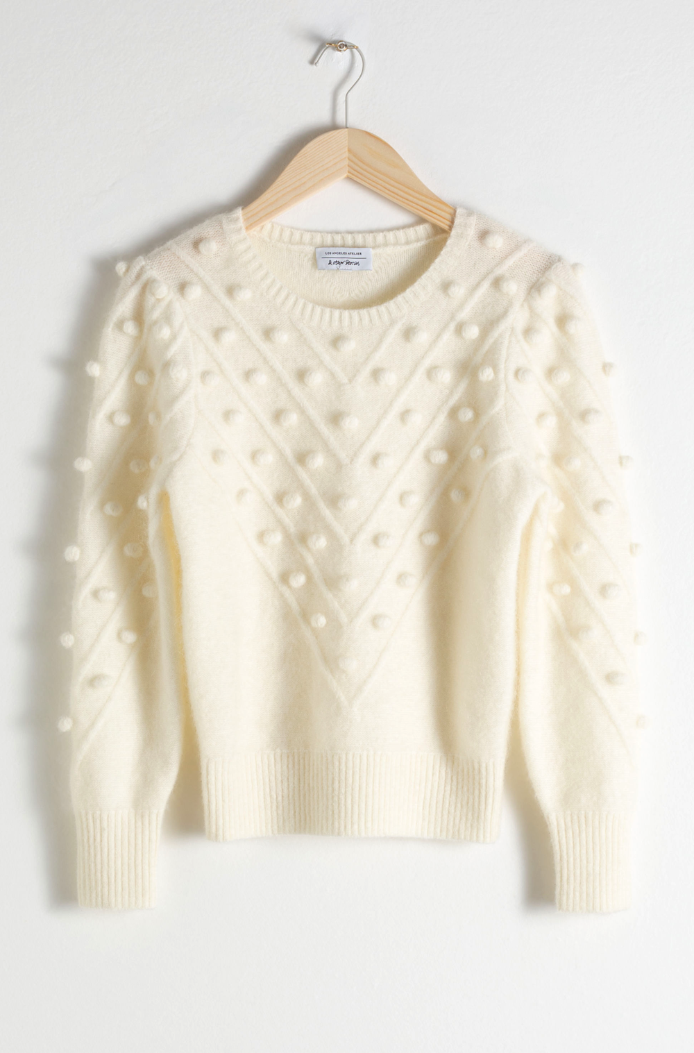 & Other Stories Popcorn Sweater     $119
