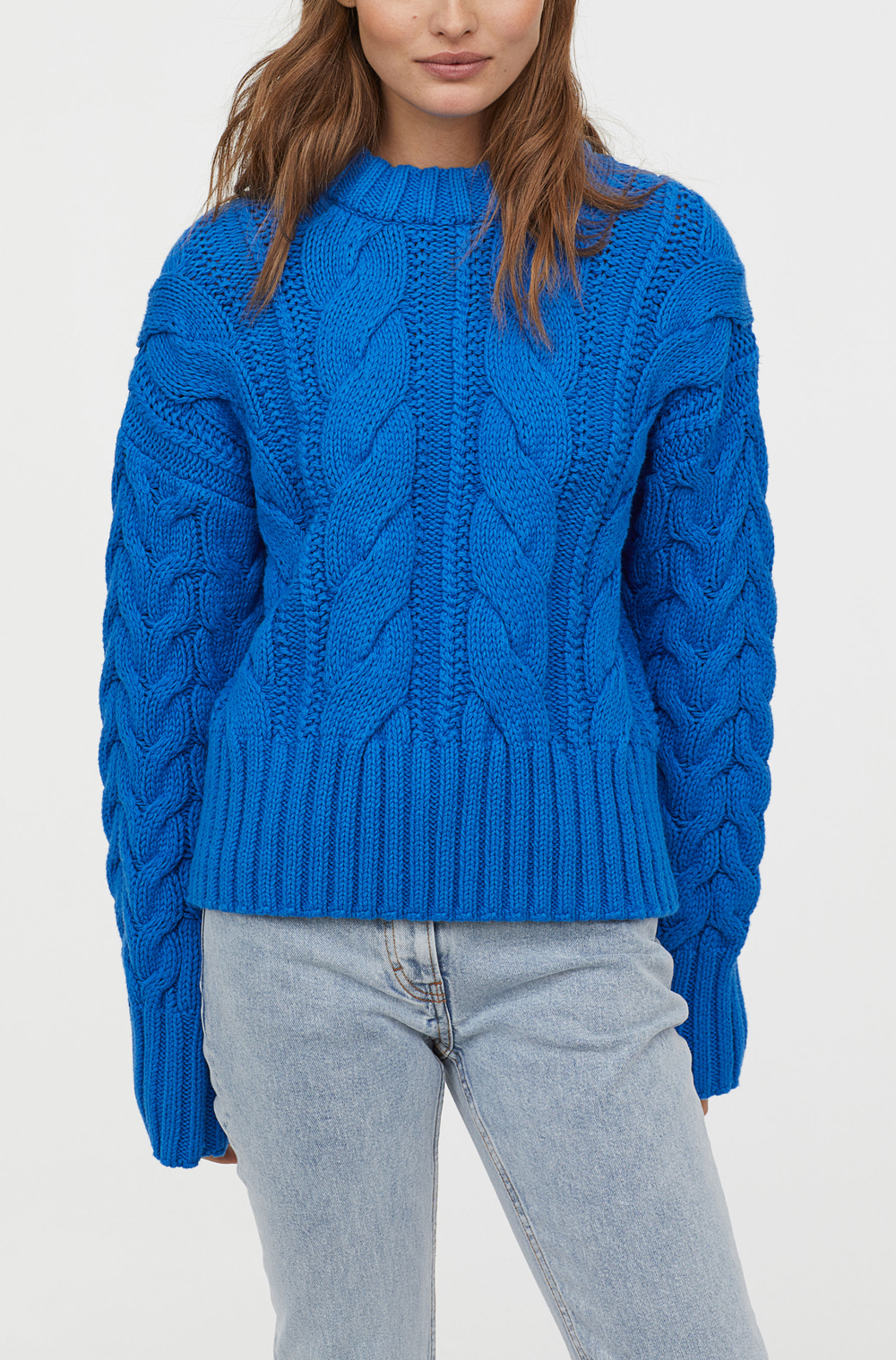 H&M Cable Knit Sweater     $49