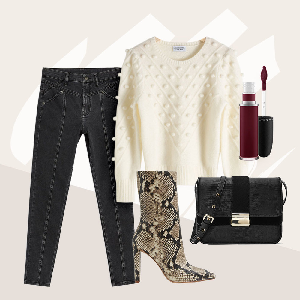 One Outfit Idea So Hot That It's Poppin' - No need for a piece of statement jewelry with popcorn details on the menu.