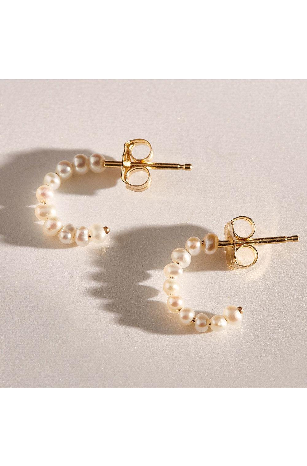 Catbird Pearl Earring     $88
