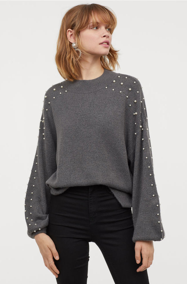 H&M Pearl Sweater  $39.99