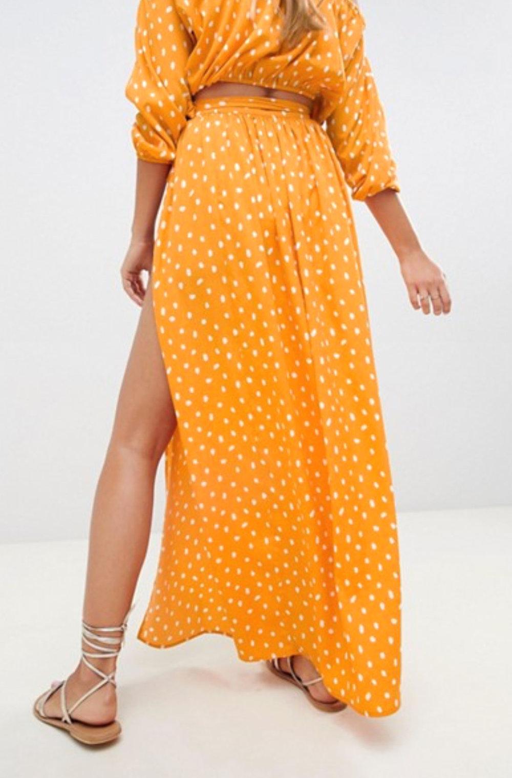Asos Bright Skirt    $35