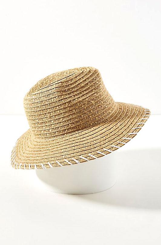 San Diego Hat Co. Straw Fedora     $48
