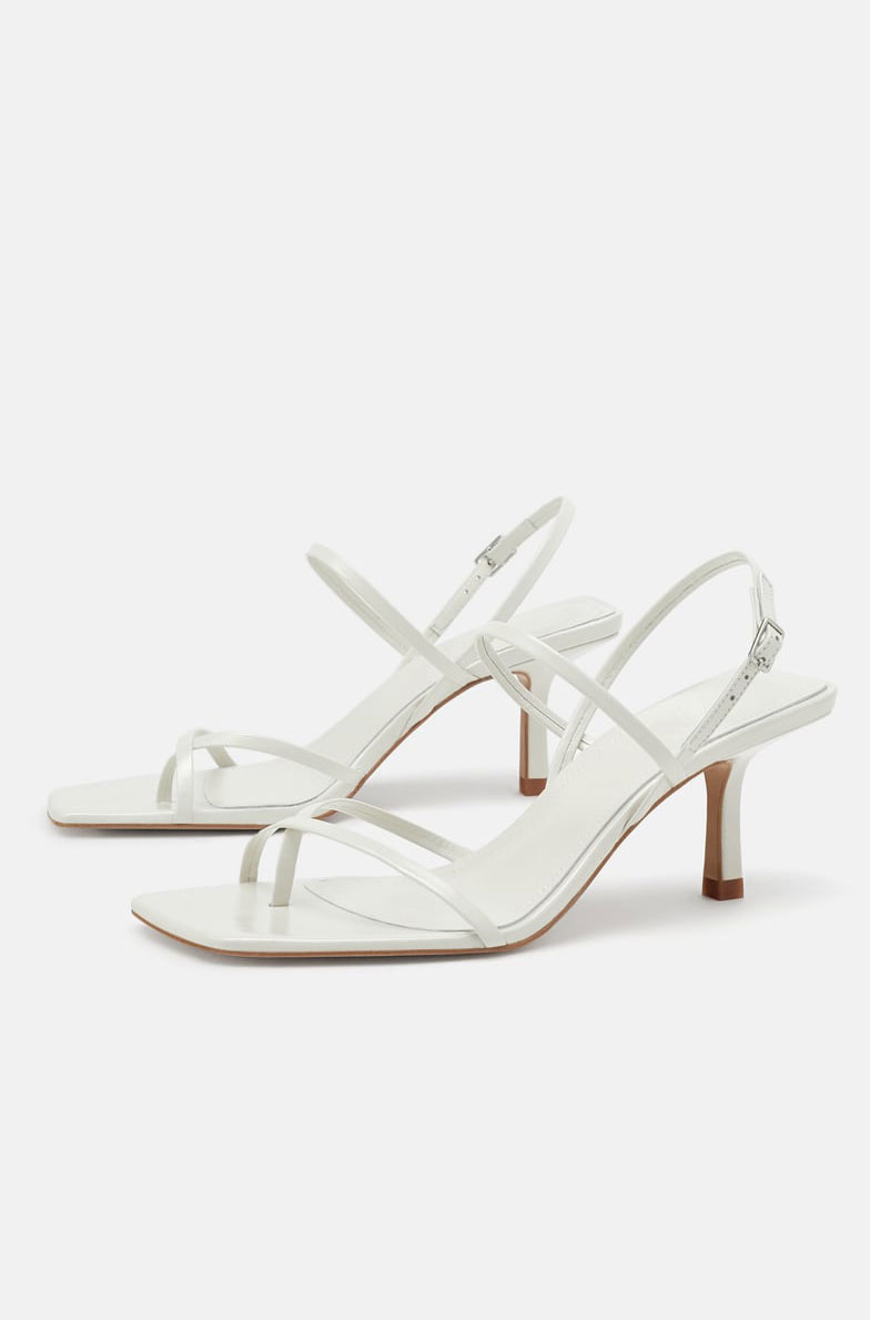 Zara Strappy Sandal  $79.90