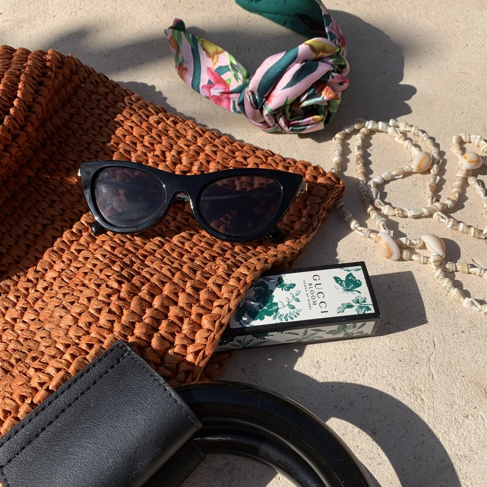 Don't leave the Beach house without these items - No suitcase should leave home without being full of straw fabrics, bright colors, and strappy details.