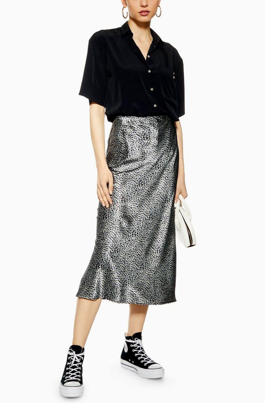 Top Shop Print Skirt  $68
