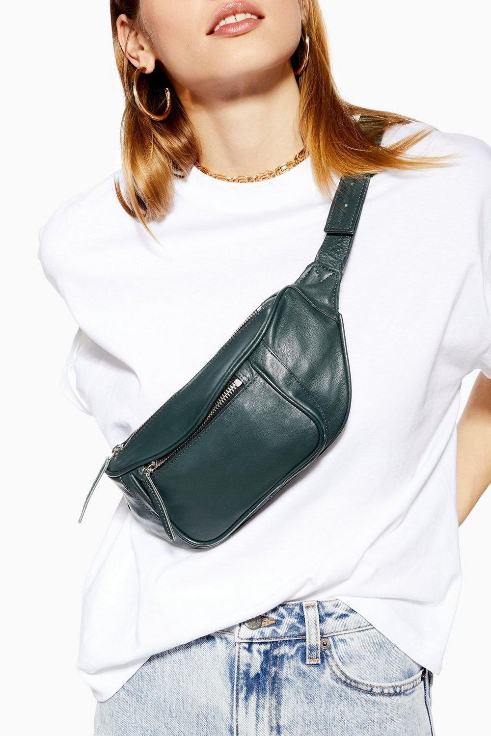 Top Shop Leather Bag  $52