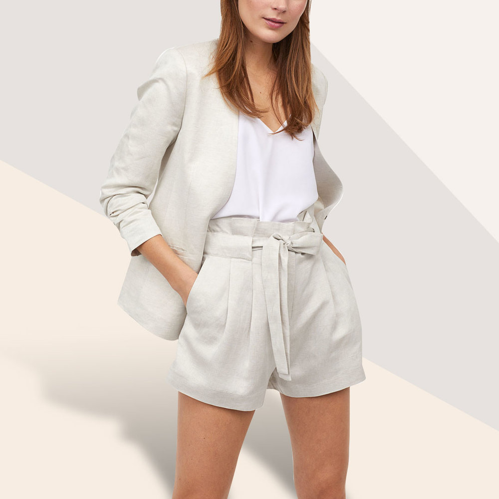 Leave the Leather at Home - Keep it cool in linen, on-trend slip dresses or fake the leather look in snakeskin.