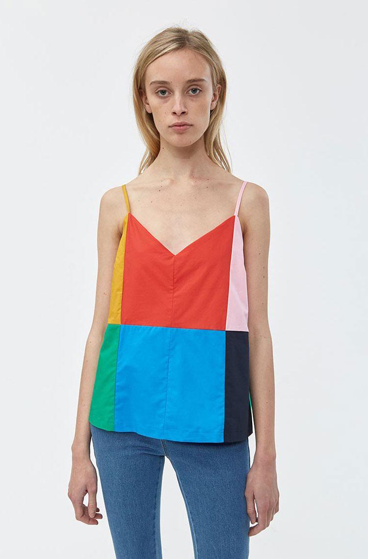 Steelan Colorblock Top     $88
